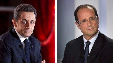 SARKOZY HOLLANDE CUNA DE LA NOTICIA