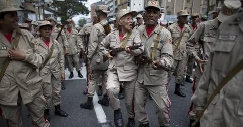 CIVILES UNIFORMADOS Y ARMADOS EN VENEZUELA