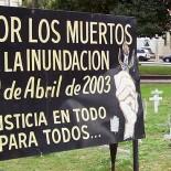 HOMENAJEARAN A LAS VICTIMAS DE LAS INUNNDACIONES EN 2003 CUNA DE LA NOTICIA