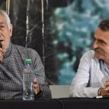 ALBERTO RODRIGUEZ SAA Y AGUSTIN ROSSI CUNA DE LA NOTICIA