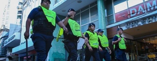 POLICÍAS PEATONAL ROSARIO CUNA DE LA NOTICIA