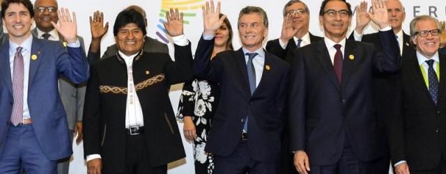 MACRI CUMBRE DE LAS AMÉRICAS CUNA DE LA NOTICIA