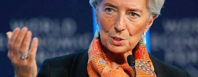 LAGARDE FMI CUNA DE LA NOTICIA