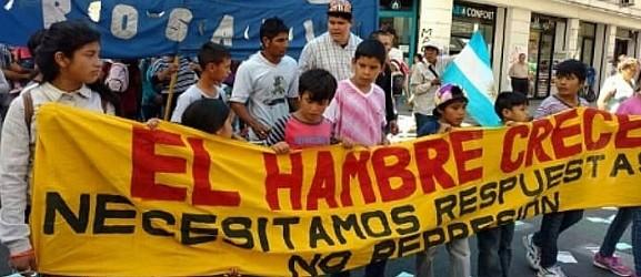 LA CCC MARCHA CONTRA EL AJUSTA Y EL HAMBRE