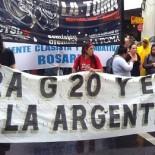 MARCHA CONTRA G20 CUNA DE LA NOTICIA