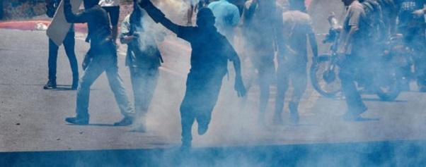 El infierno ocupó una cabeza de playa en Venezuela