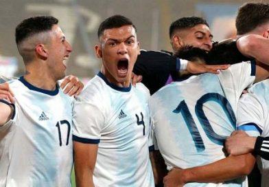 La selección Argentina de fútbol masculino consiguió la medalla de oro