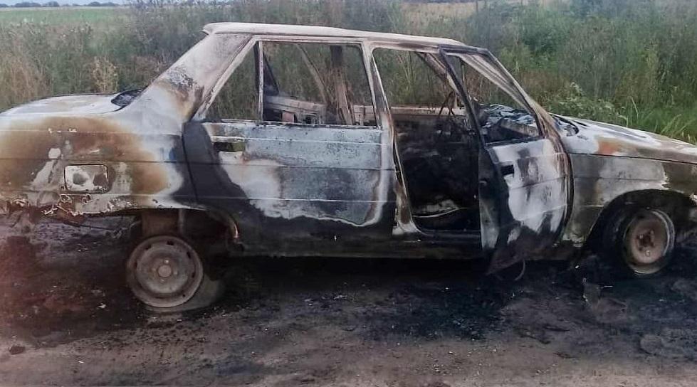 Mujer falleció calcinada dentro del auto de su pareja en Alejandra
