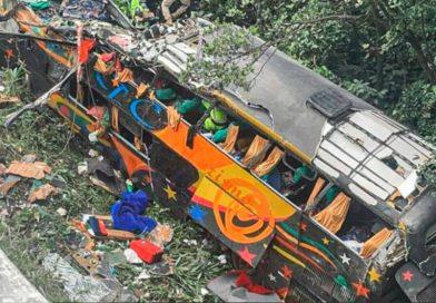 Tragedia en Brasil: Al menos 21 muertos al desbarrancar un micro que iba a Camboriú