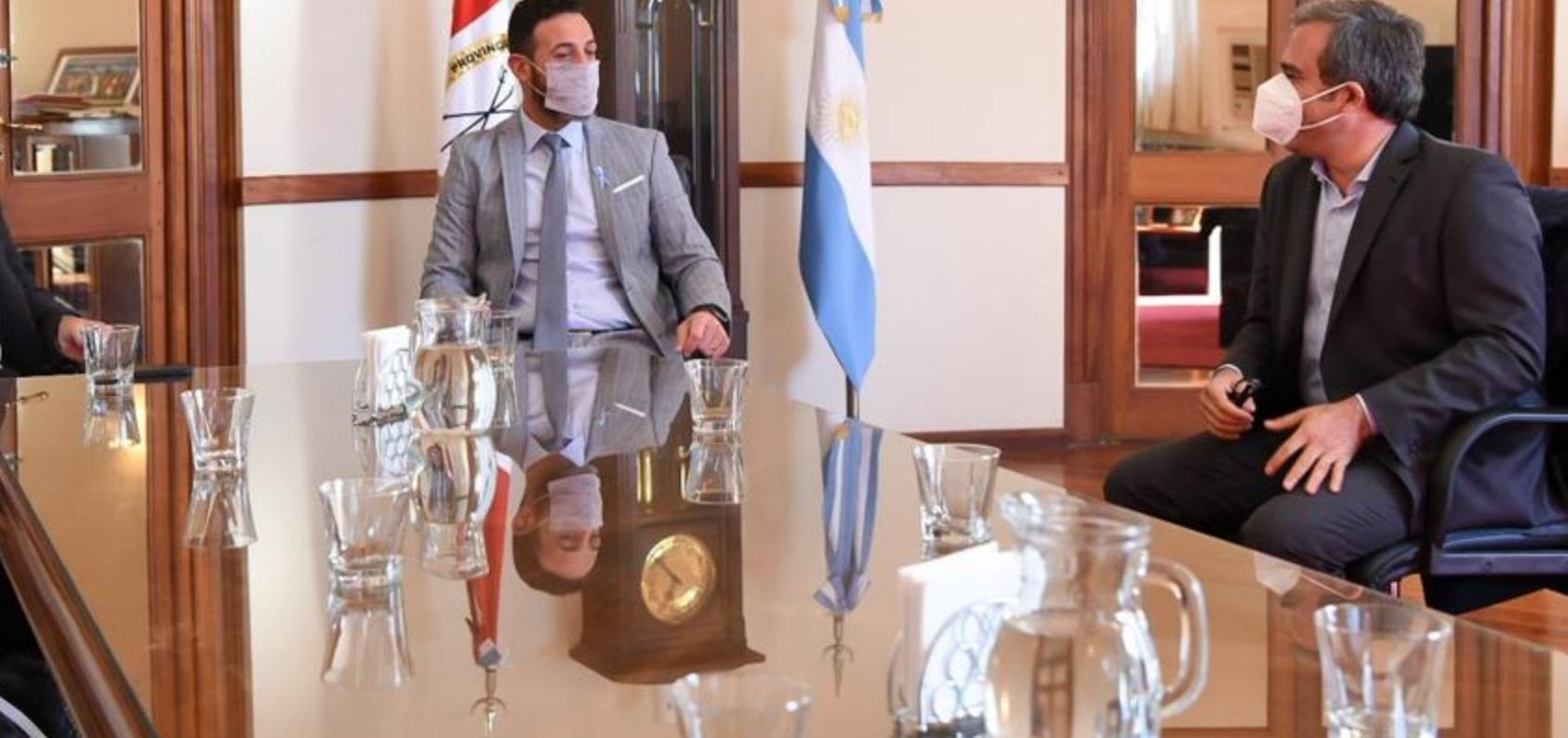 """Martínez se reunió con Sukerman: """"El diálogo y el consenso son siempre bienvenidos"""""""