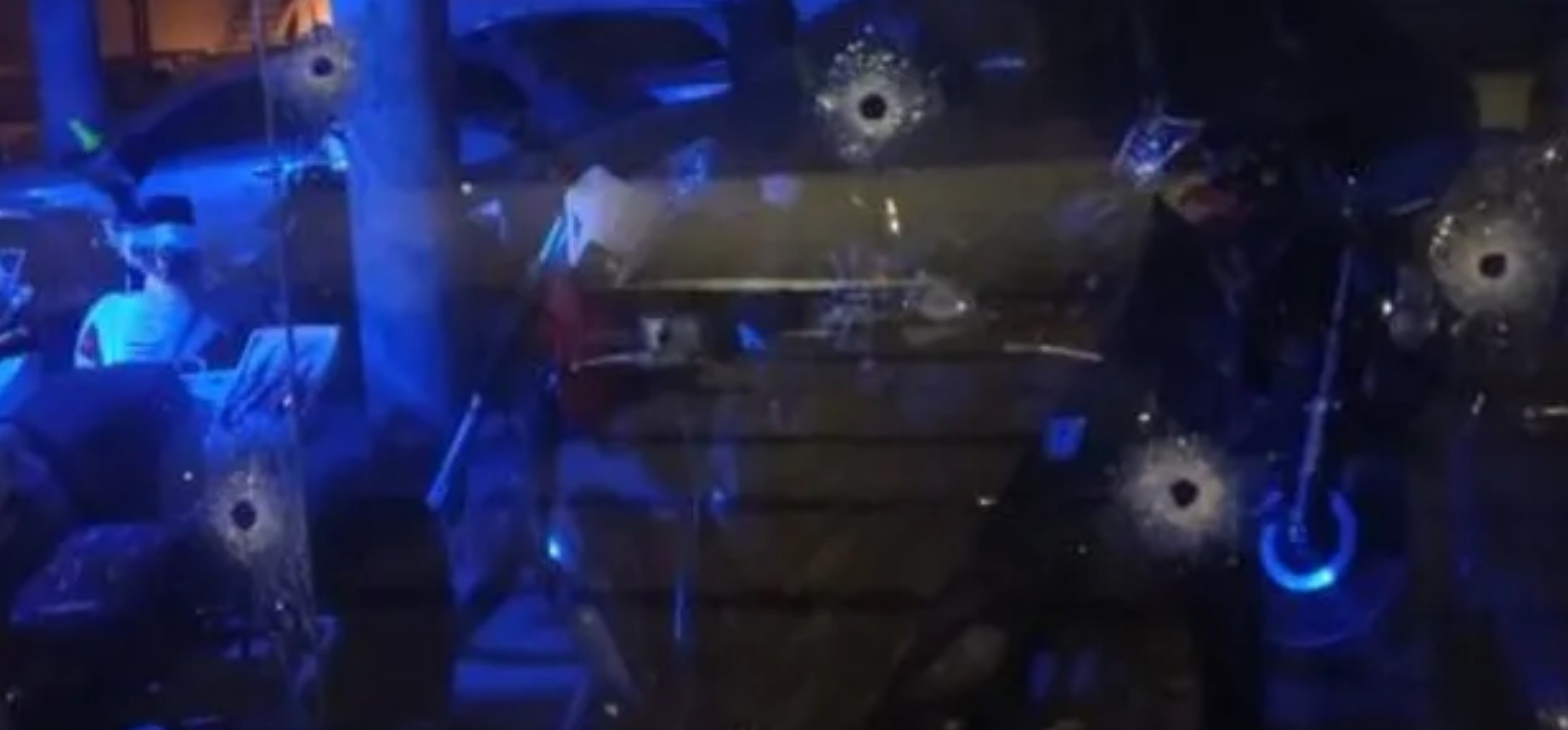Funes: Dieciséis tiros contra una concesionaria de autos de alta gama