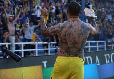 Central venció a Patronato con un agónico gol de Vecchio