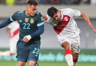 Argentina venció a Perú y quedó a un paso de Qatar